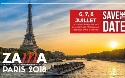 « Save the date: ZAMA Paris le 6, 7 et 8 Juillet 2018 »